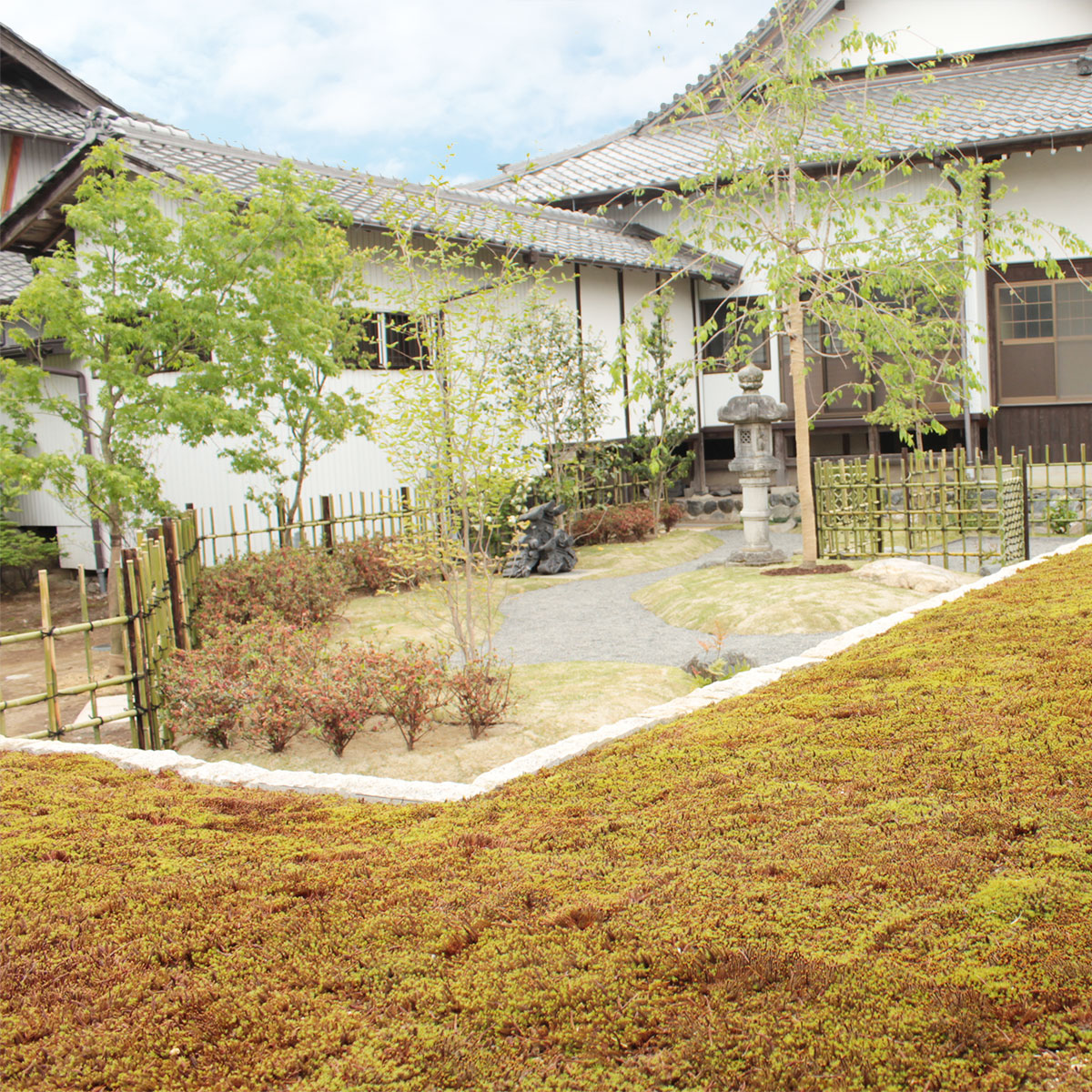 大源寺の樹木葬の風景